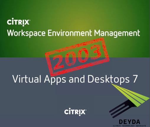 Citrix Virtual Apps and Desktops & WEM 2003 ist veröffentlicht