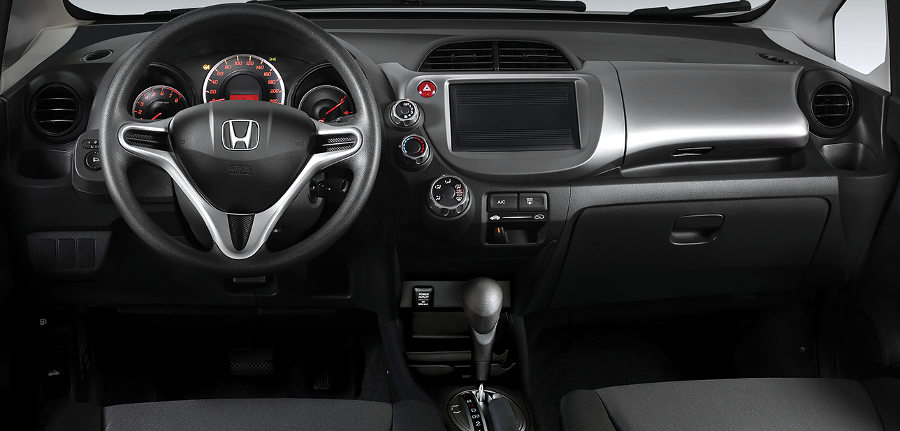 The upcoming honda fit will feature upgraded materials and technology compared to the previous model. Honda-Fit-CX-2014-Brasil-flex-interior-painel - De 0 a