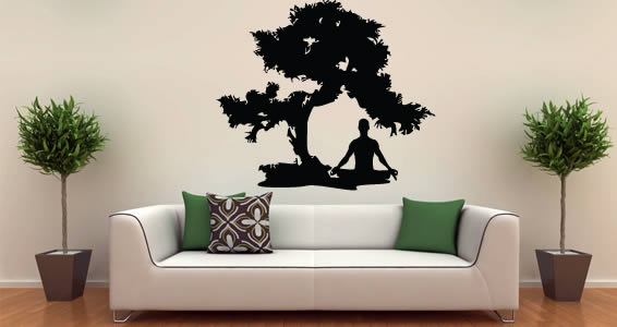 Meditation Zen Wall Decals Dezign With A Z