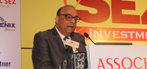 Rohit Kapur spoke at Assocham's 12th International SEZ Investment Summit 2018