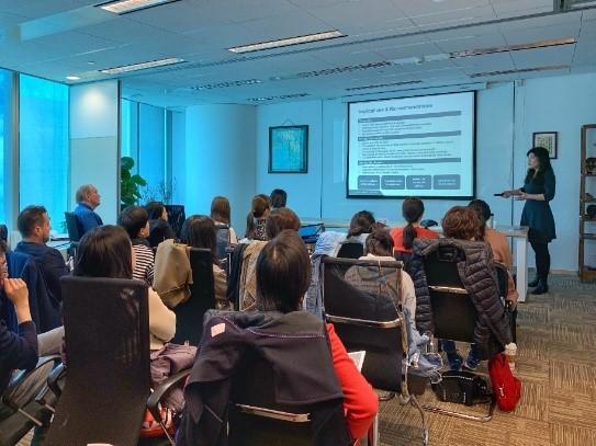 Ines Liu Presents on New IIT Law in Beijing