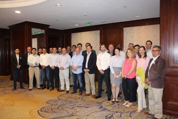 Lorena en la reunión de miembros latinoamericanos de IR Global 2019