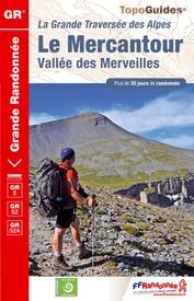 Wandelgids Traversée du Mercantour - GR 5 -52 -52A | FFRP ref 507