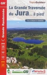 Wandelgids 512 Grande Randonnee GR5 La grande traversée du Jura   FFRP