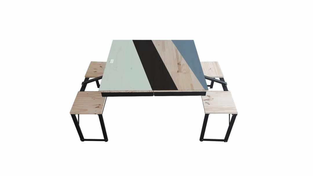 Table Dezyco motif N Concept