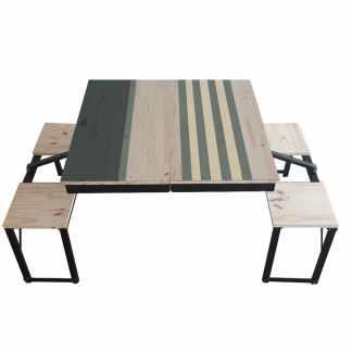 Table Dezyco motif Stripes Sail
