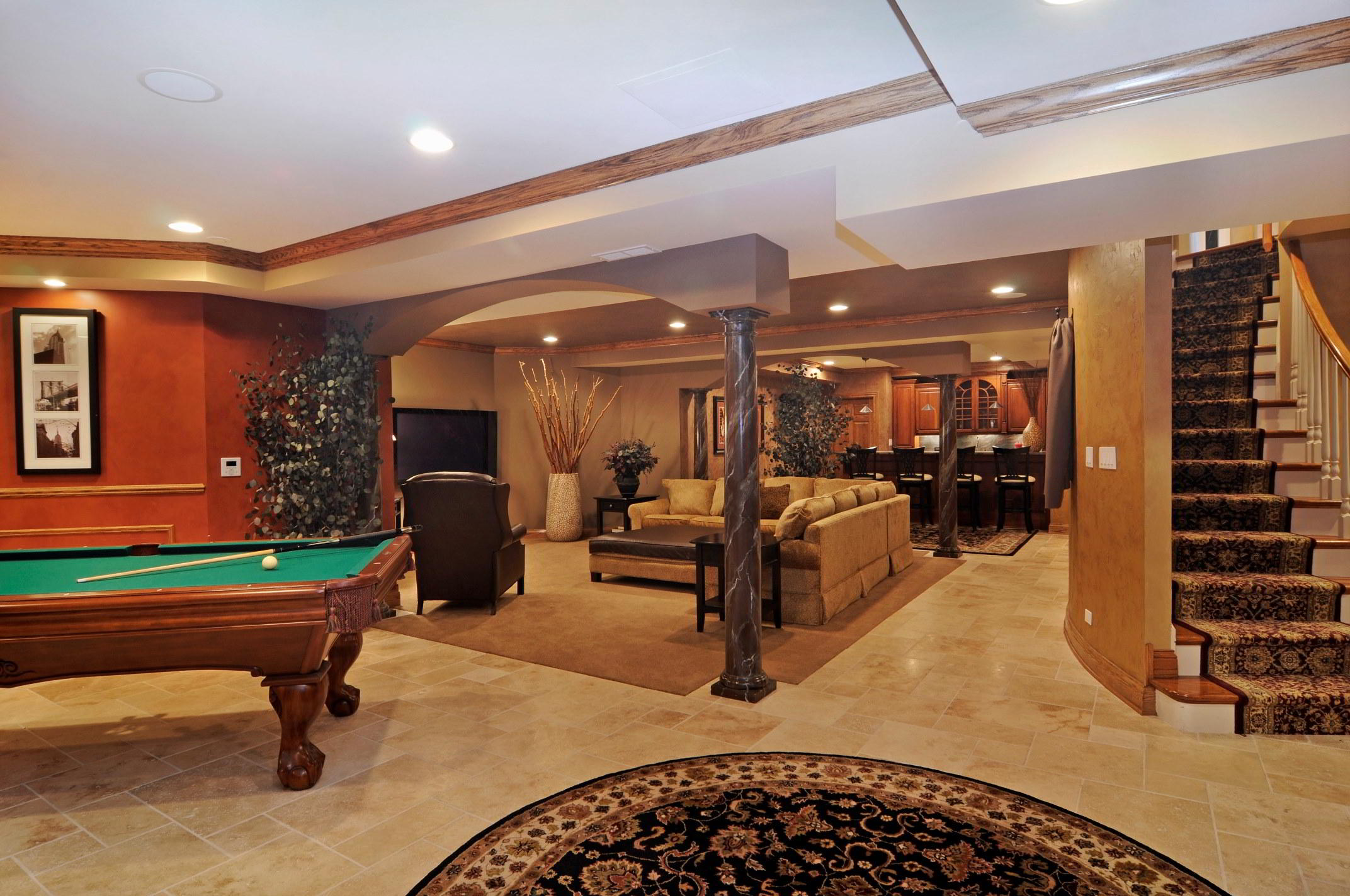 Basement Entertainment Room Portfolio Expert Design Build Consult