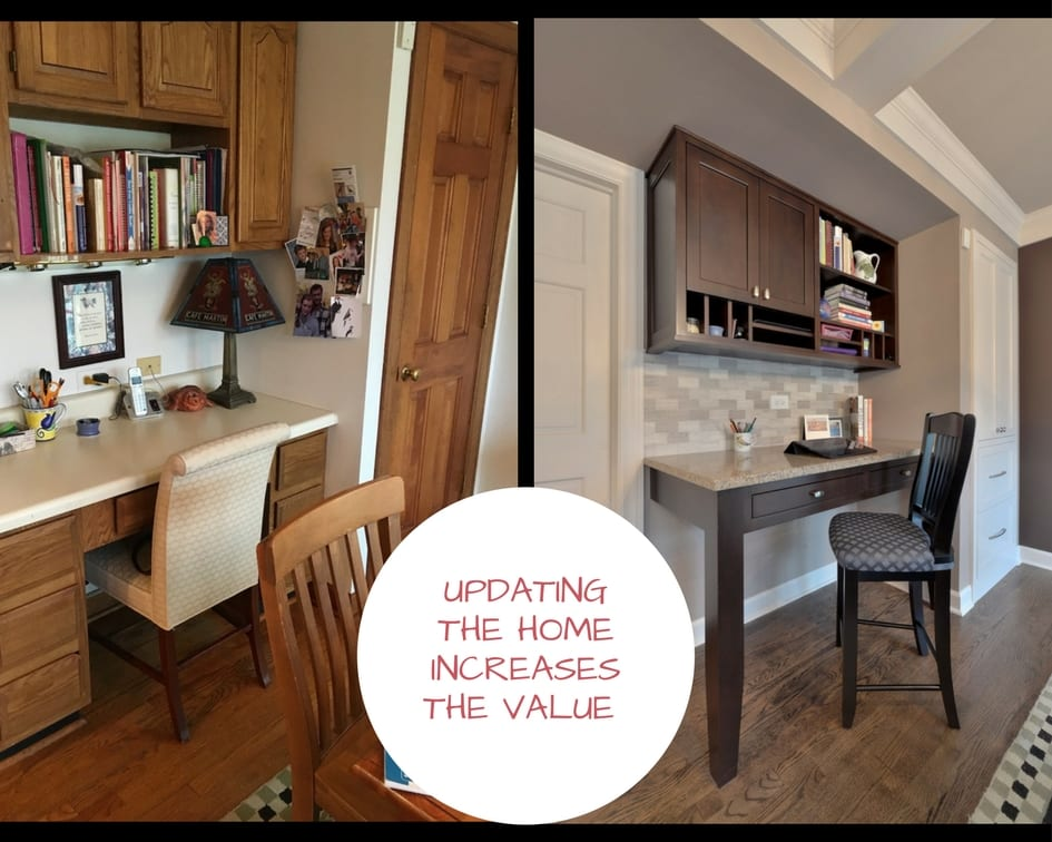Kitchen Office Design Before After!