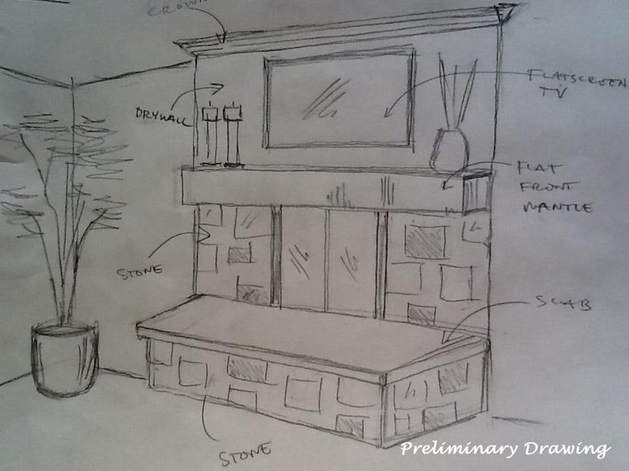 DF Design Inc | Preliminary Design Drawing