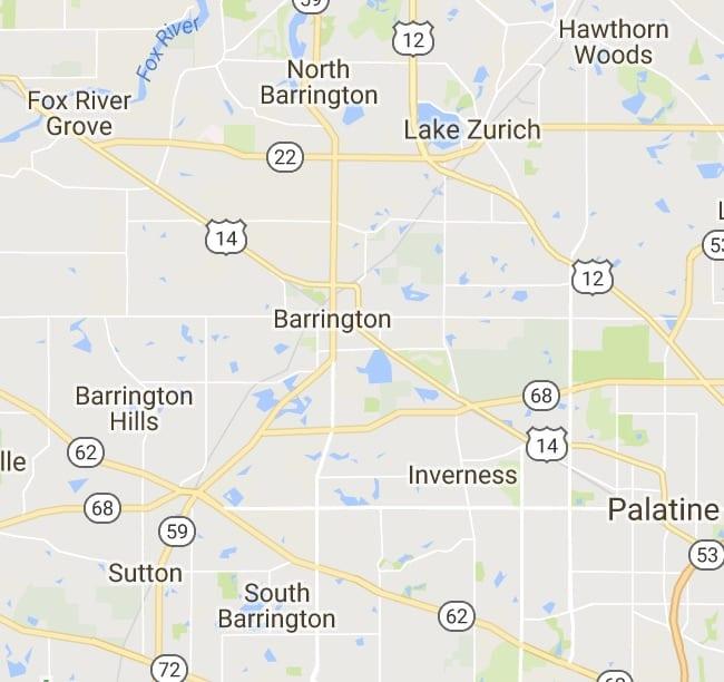 Illinois 60010 Map