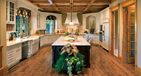 House Plans with Fabulous Kitchen Floor Plans   DFD House Plans House Plans with Fabulous Kitchen Floor Plans