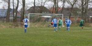 1:0 per Foulstrafstoß Ole P.