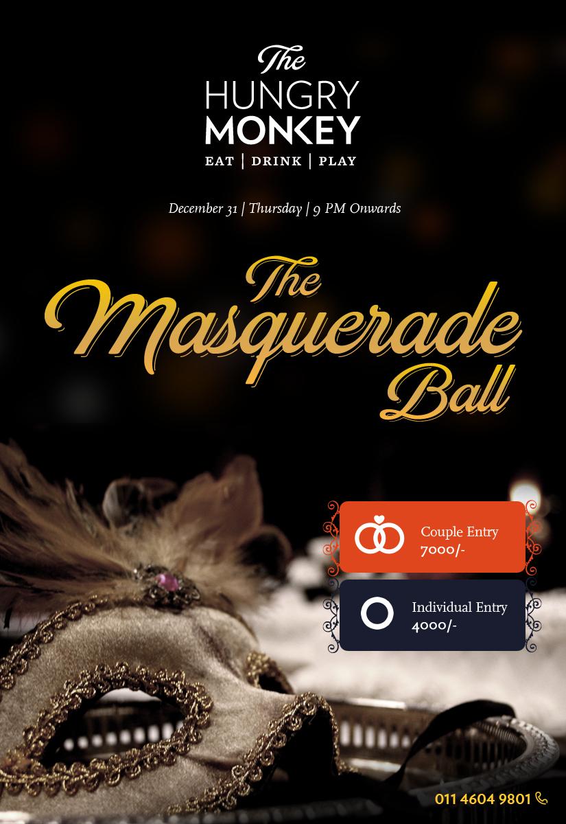 Masquerade Ball at The Hungry Monkey (1)