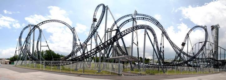 roller coaster rides in Delhi-NCR