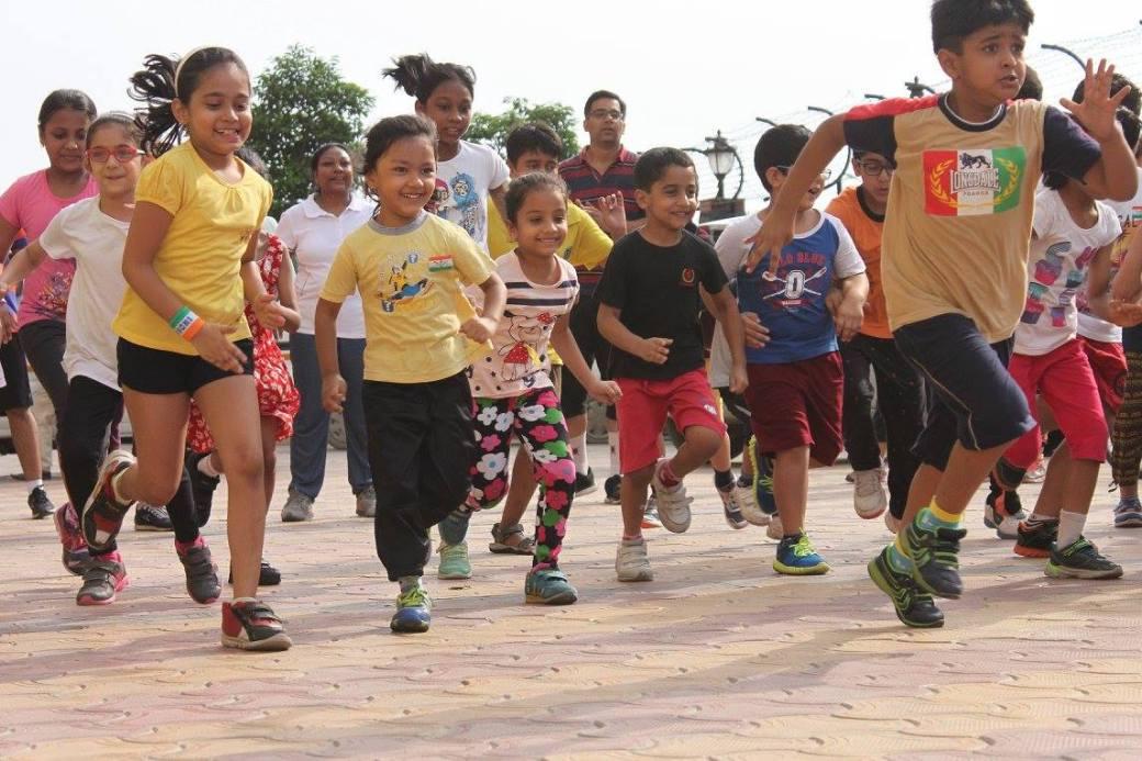Delhi Kidsathon DforDelhi