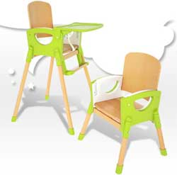 chaise haute smiling