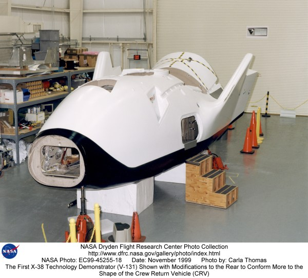 X-38 EC99-45255-18: The First X-38 Technology Demonstrator ...