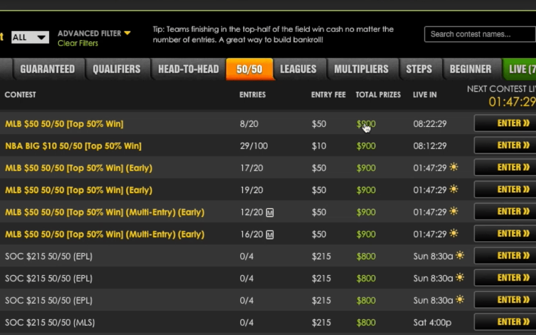 Site Review: DraftKings