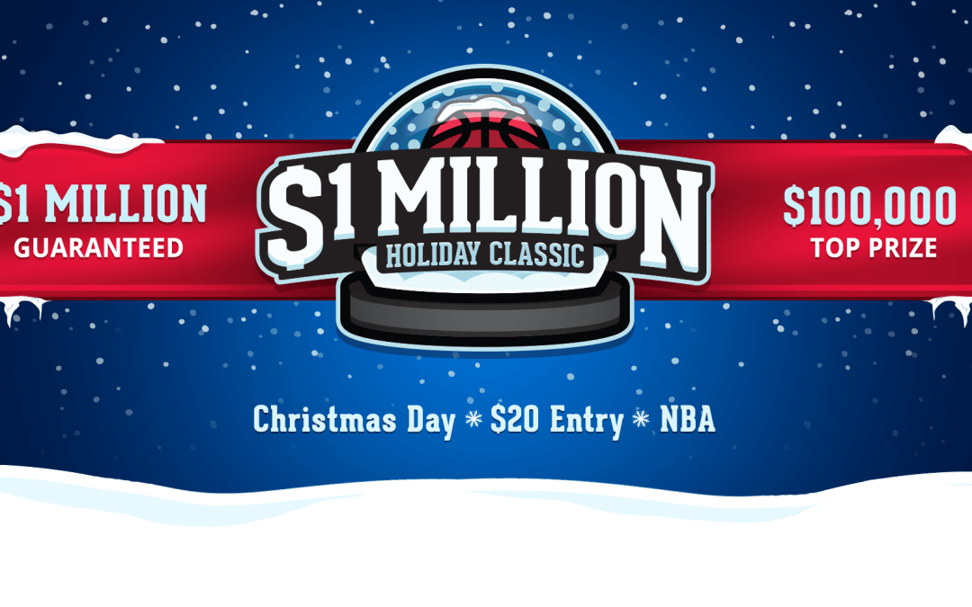 NBA Profit Share, $1 Million Holiday Classic – Dec 25