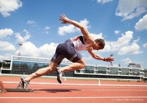 runner represents preparation for selling business