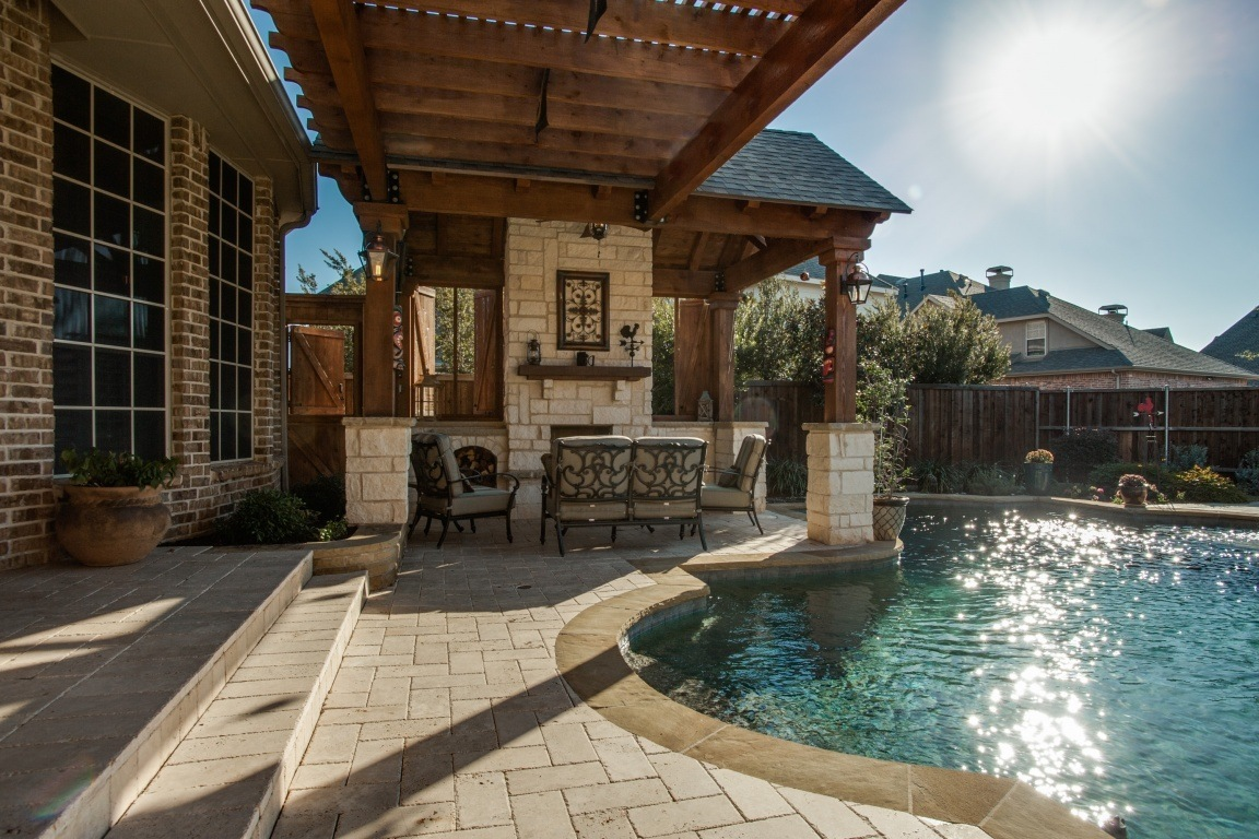 Luxury Outdoor Living | DFW Improved | 972-377-7600 on Fancy Outdoor Living id=48397