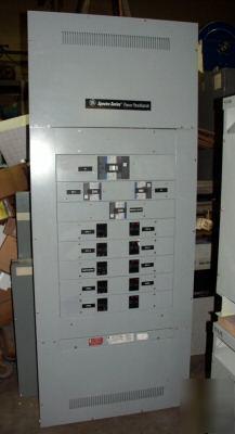 Ge Spectra Power Panel Board 1200 Amp W 14 Breakers