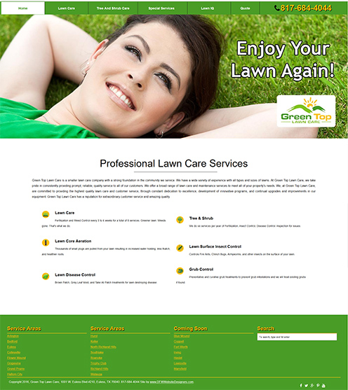Click for Your Green Lawn!