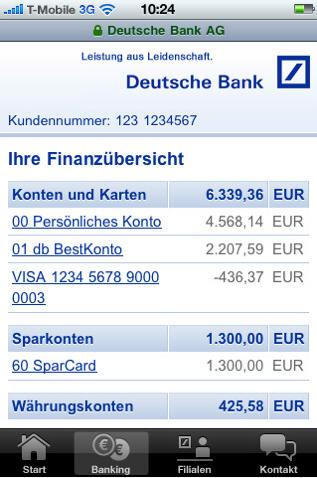 Meine Bank Die App Der Deutschen Bank Dfxnetworkorg
