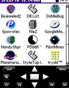 StyleTap – PalmOS Emulator für das iPhone