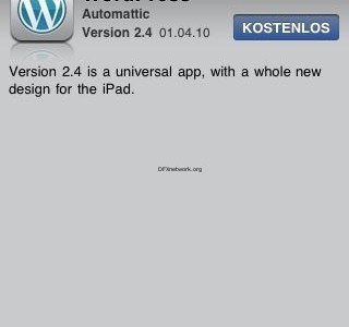 iPad Apps Live und die ersten iPad Updates