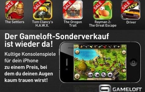 Gameloft Sommer Sonder Verkauf