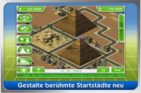 SimCity Deluxe für iPhone und Touch