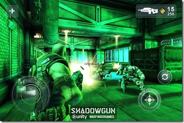 Shadowgun Screen Shot 2