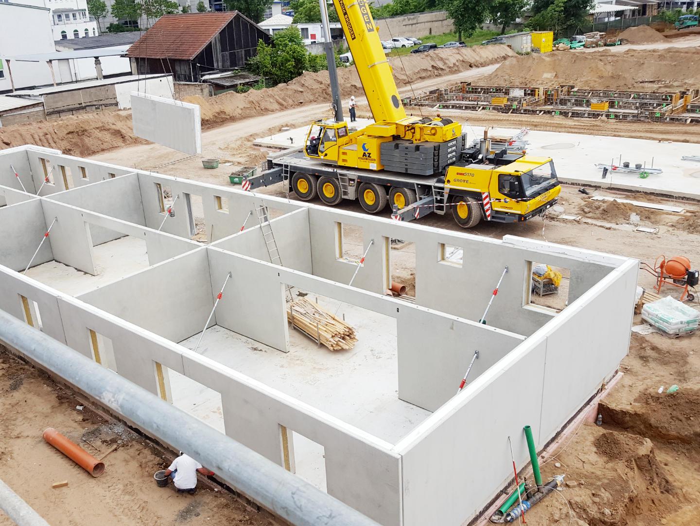 MFH-Siedlung Baustelle