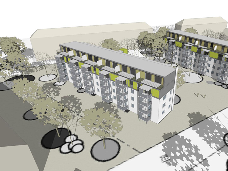 Binger Straße Visualisierung