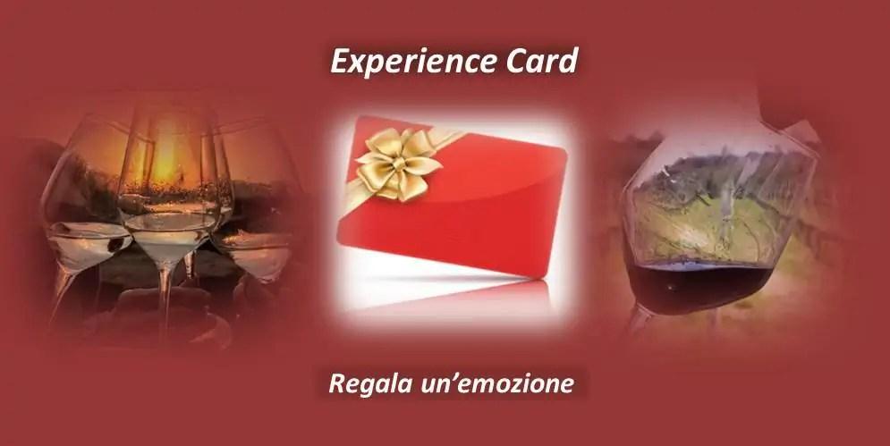 Experience Card – Regala un evento, un corso, un'esperienza