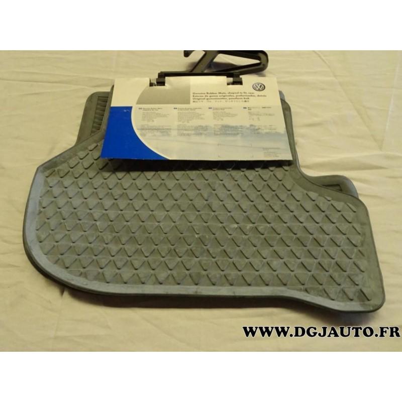 paire tapis de sol arriere caoutchouc gris 1k0061511 528 pour volkswagen golf 5 partir de 2004 jetta partir 2006 scirocco partir dgjauto