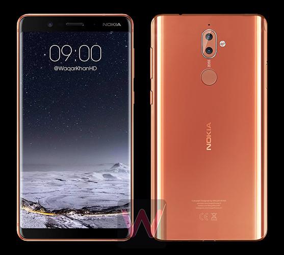 Флагманский смартфон Nokia 9 получит AMOLED-экран и корпус из изогнутого стекла