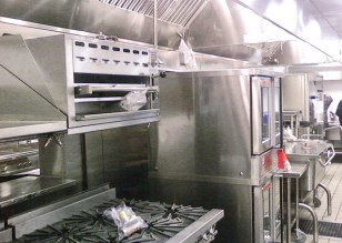 Custom Commercial Kitchen Hood