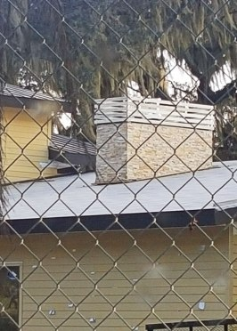 Custom Metal Chimney Vent Cap for a Fireplace- New Construction