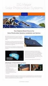 D.G.Meyer Solar Systems