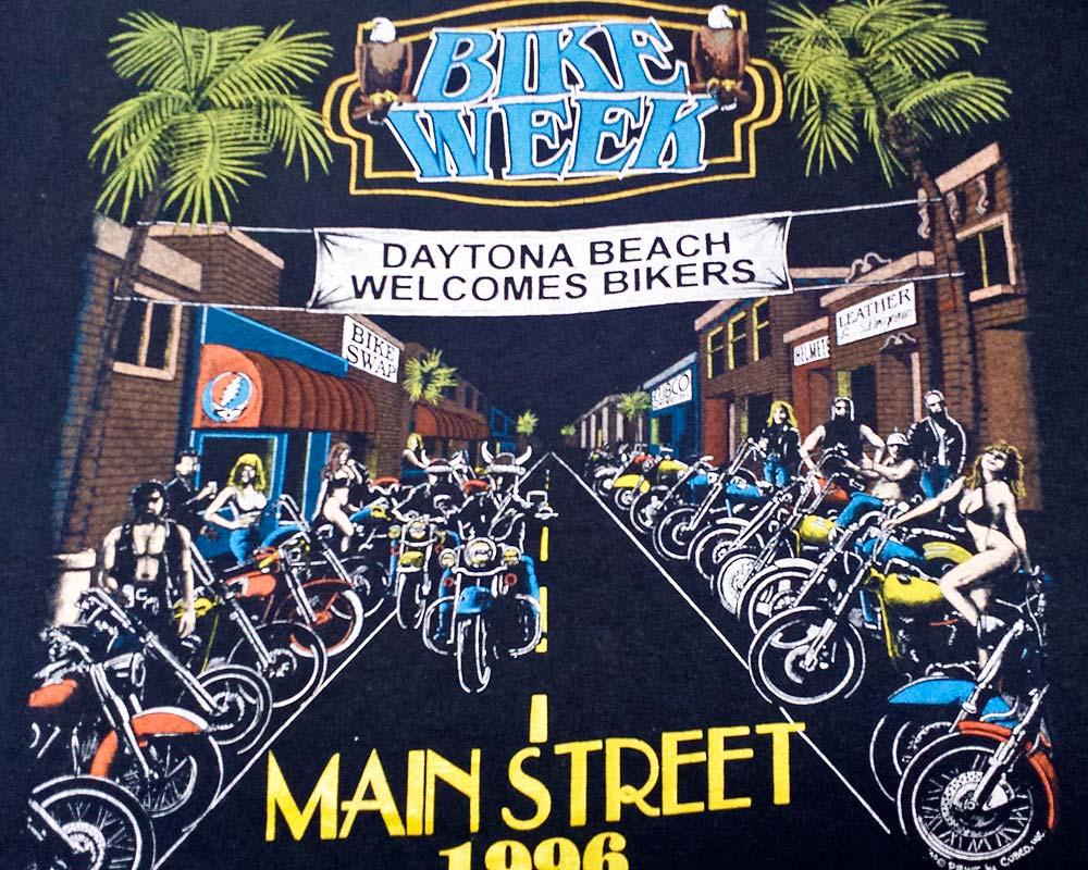 Bike Week Tee 1996