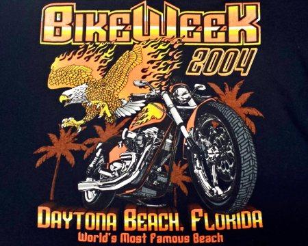 Bike Week Tee 2004