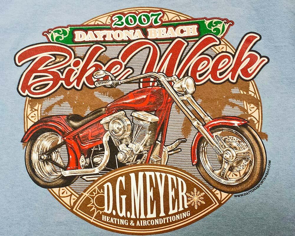 Bike Week Tee 2007