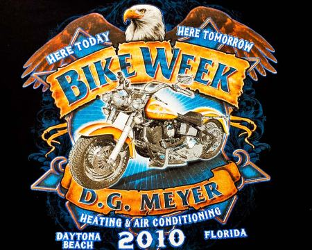 Bike Week Tee 2010