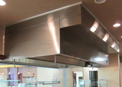 Hood-- Bethune Cookman University dining room.
