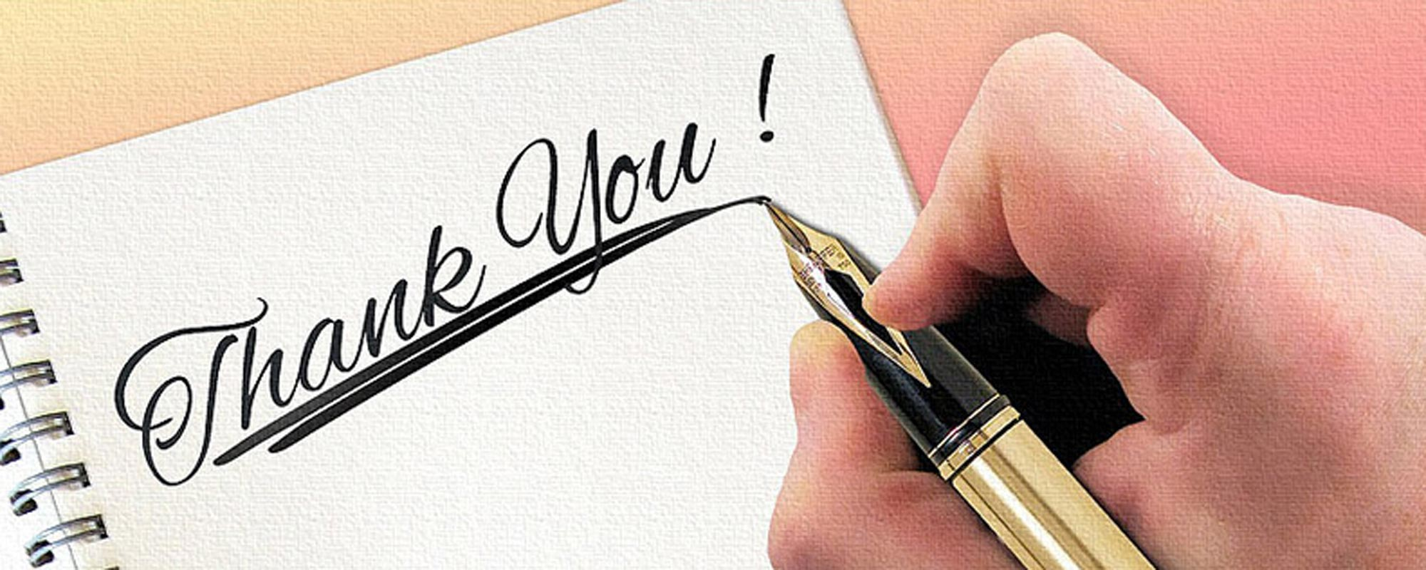 Testimonial Page: Thank You