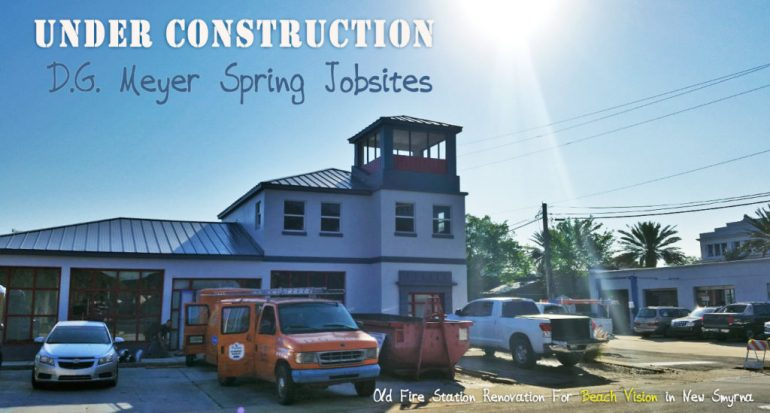 D.G. Meyer Spring Jobsites