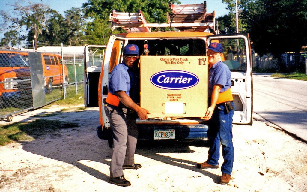 D.G. Meyer Employees and Truck