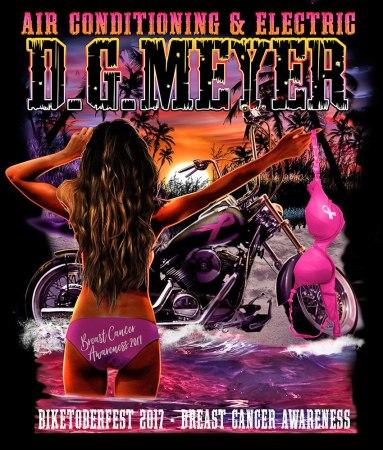 Biketoberfest 2017 Breast Cqancer Awareness